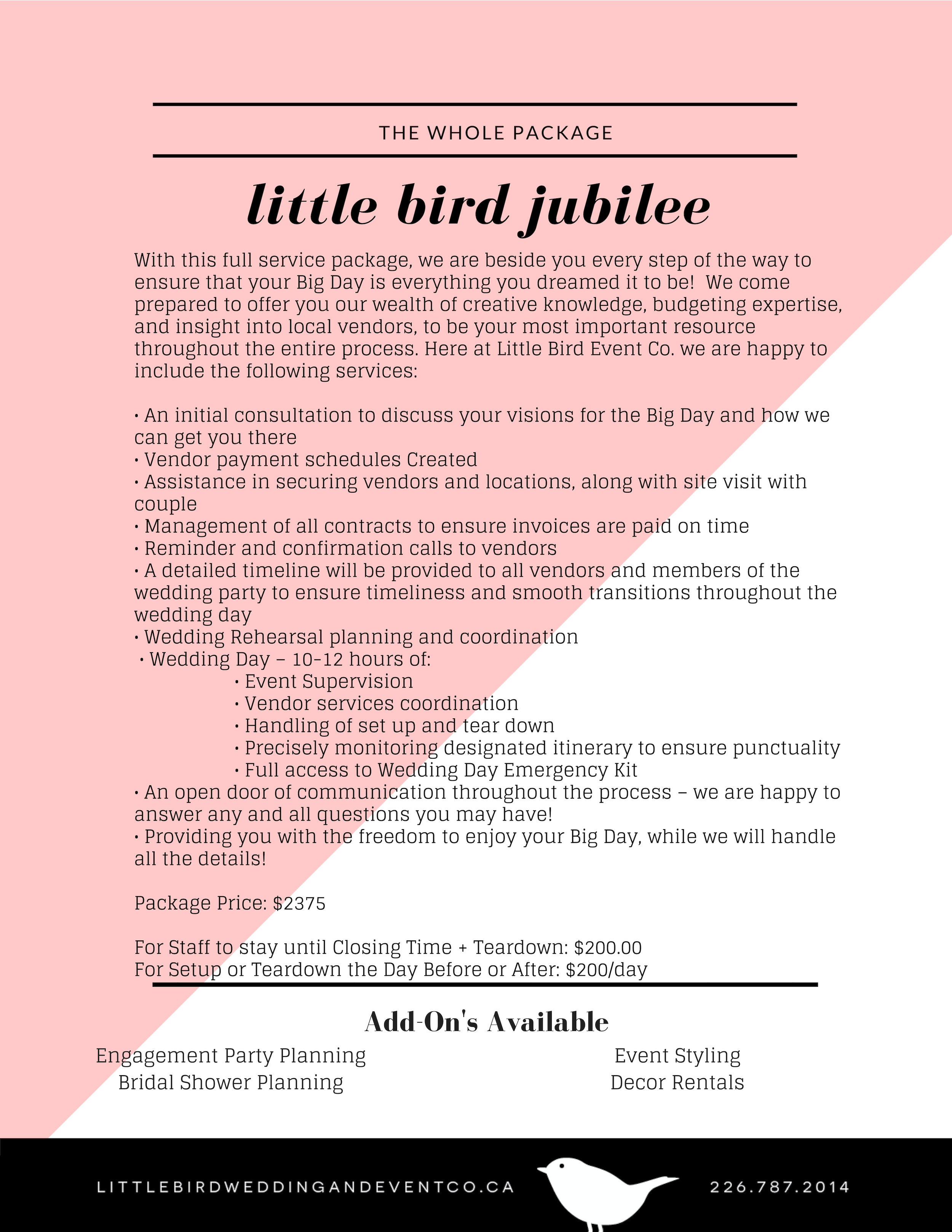 Little Bird Jubilee Pricing 2019 - NEW.jpg