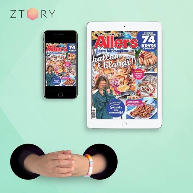 Snyggt kommunikativt koncept för Ztory i sociala medier!  #ztory #storytel