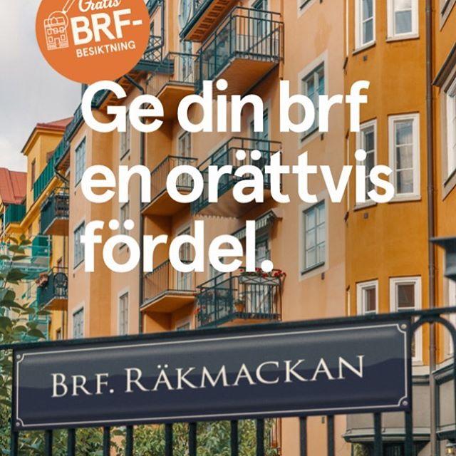 BRF Räkmackan - Med @fastighetsagarna.se blir livet så mycket bättre! . . #brfräkmackan #brf #fastighetsägarna #reklam #reklamkampanj #kommunikation #graviz #outhouse