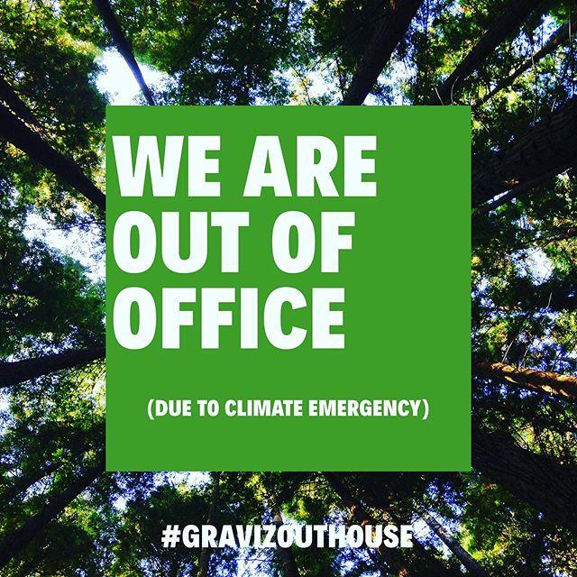 #climatestrike #gretathunberg #outofoffice - Stockholm, Sverige! #reklambranschen #advertisingindustry