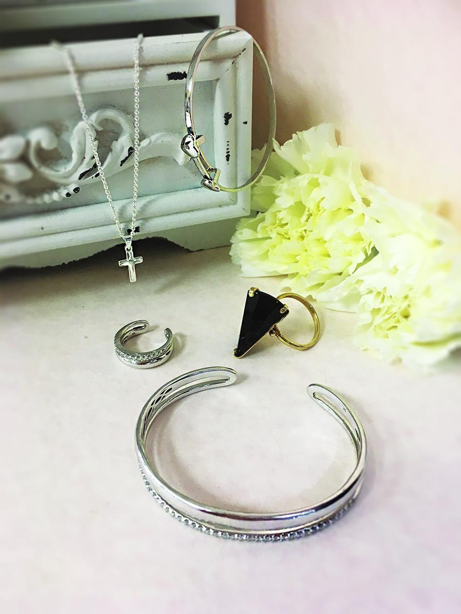 Adelle's jewellery box favourites.