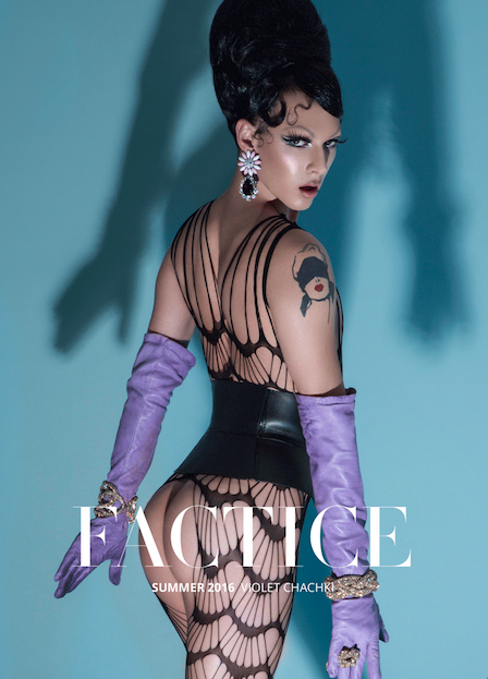 Factice Magazine    PA5H featured in July 2016 issue