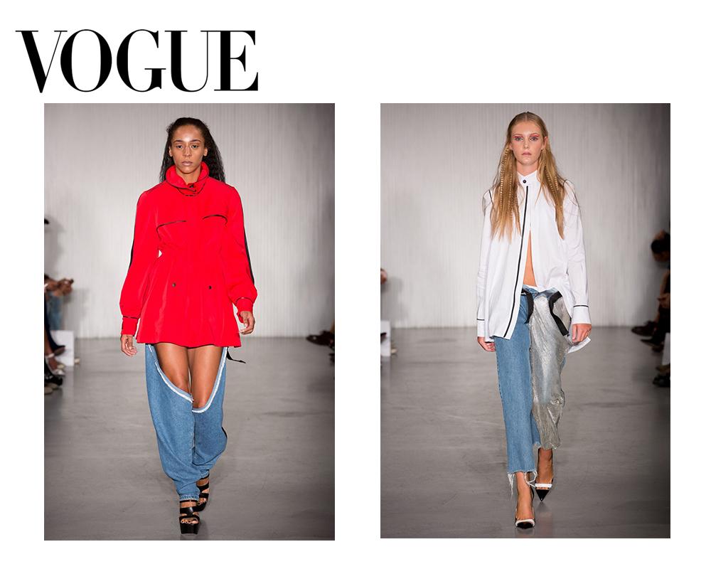 Vogue UK 8 September 2016    SS17 Runway