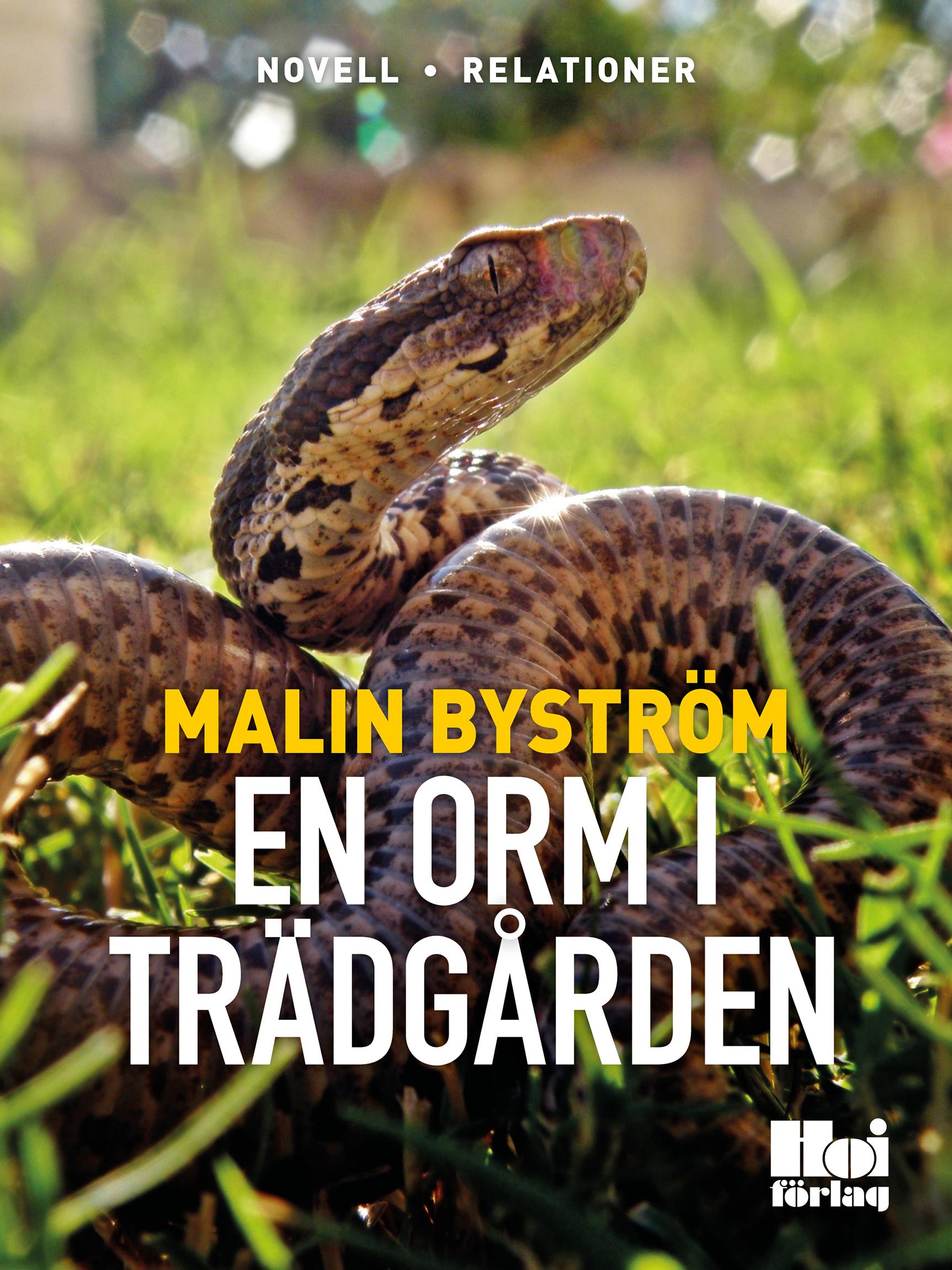 En orm i trädgården