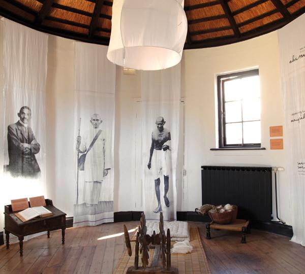 THE SATYAGRAHA HOUSE (Gandhi's House)   JOHANNESBURG, SOUTH AFRICA   www.satyagrahahouse.com