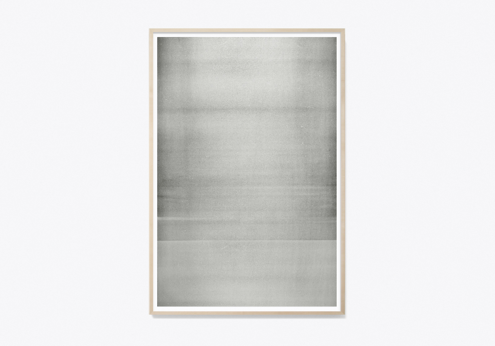 """Jim Verburg,  Untitled (Reflected/Repeated) #5 , 2014, encre à base d'huile sur papier journal, 91 x 61 cm (36"""" x 24"""")"""
