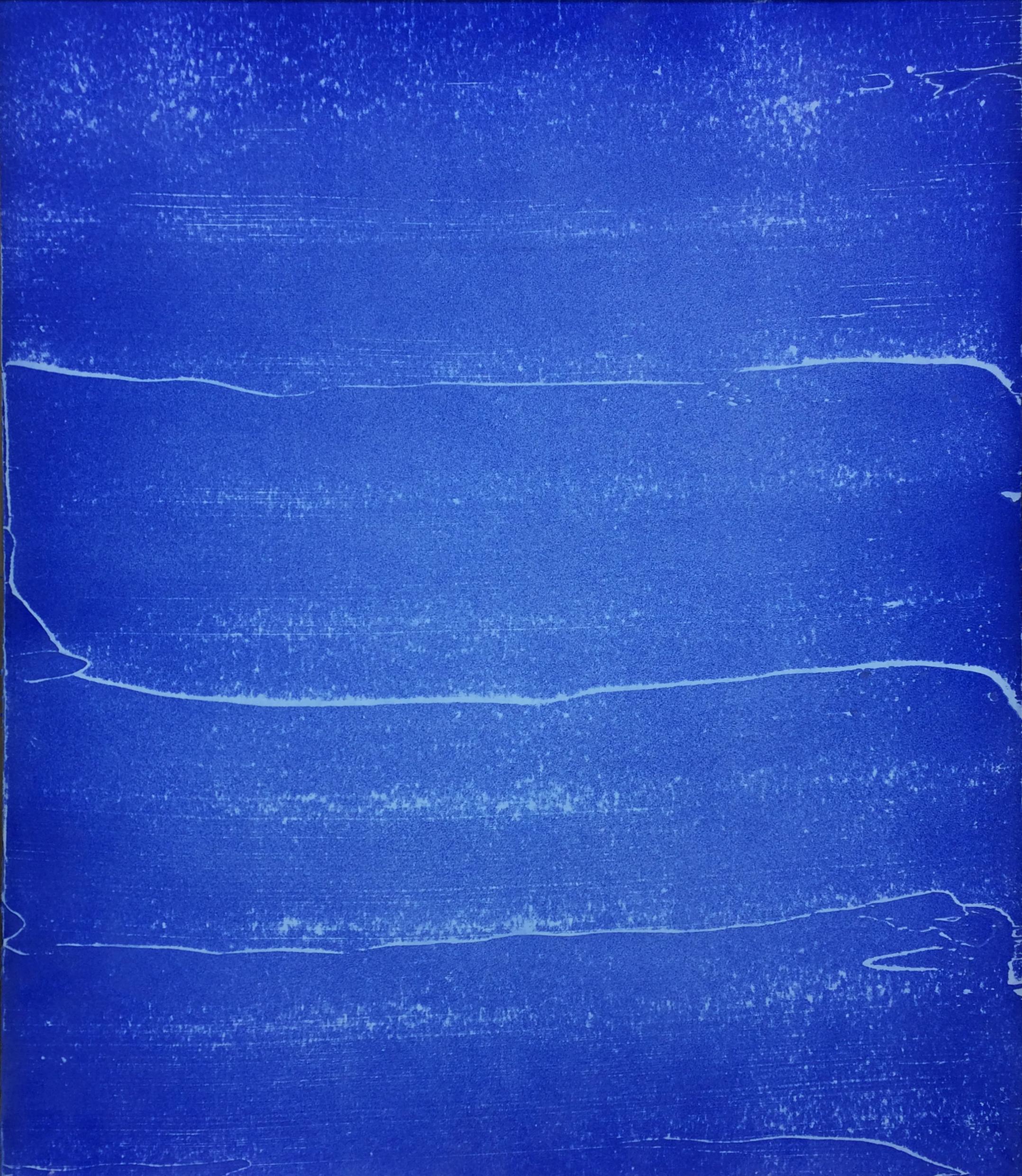 Blueprint B-3 2017  Plâtre et peinture aérosol sur gypse  61 X 51 cm