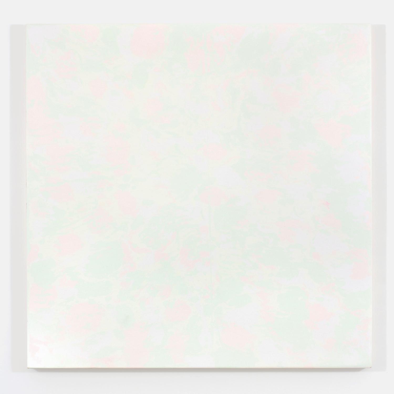 """Pierre Julien,  Purple Haze / The gathering of the clouds no. 2 , 2015, plâtre et acrylique sur panneau de bois, 122 x 122 cm (48"""" x 48"""")"""