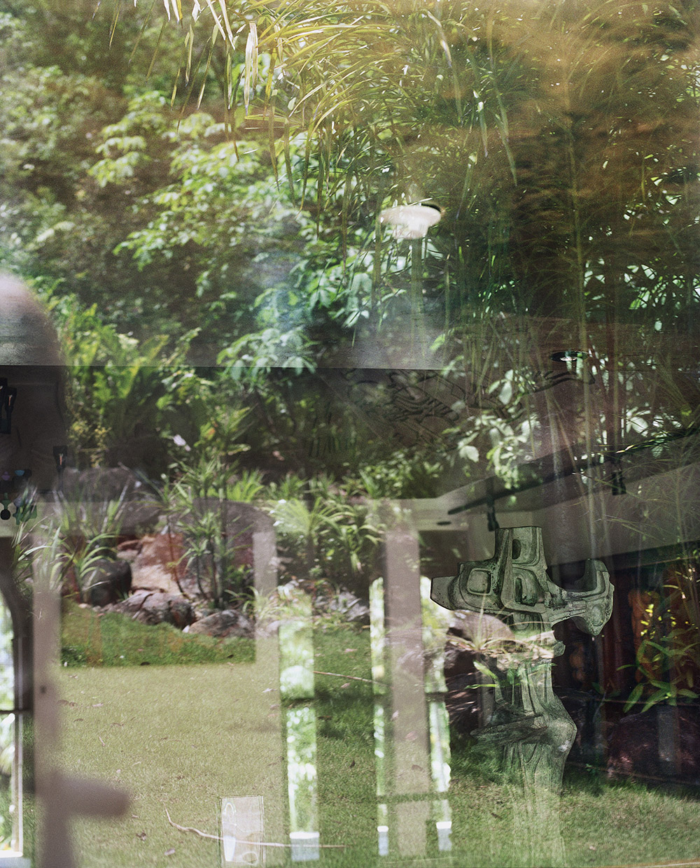 """Lorna Bauer,  Sitio Roberto Burle Marx #3 , édition de 5 + 1 AP, 2018, impression pigmentée, 127 x 102 cm (50"""" x 40"""")"""