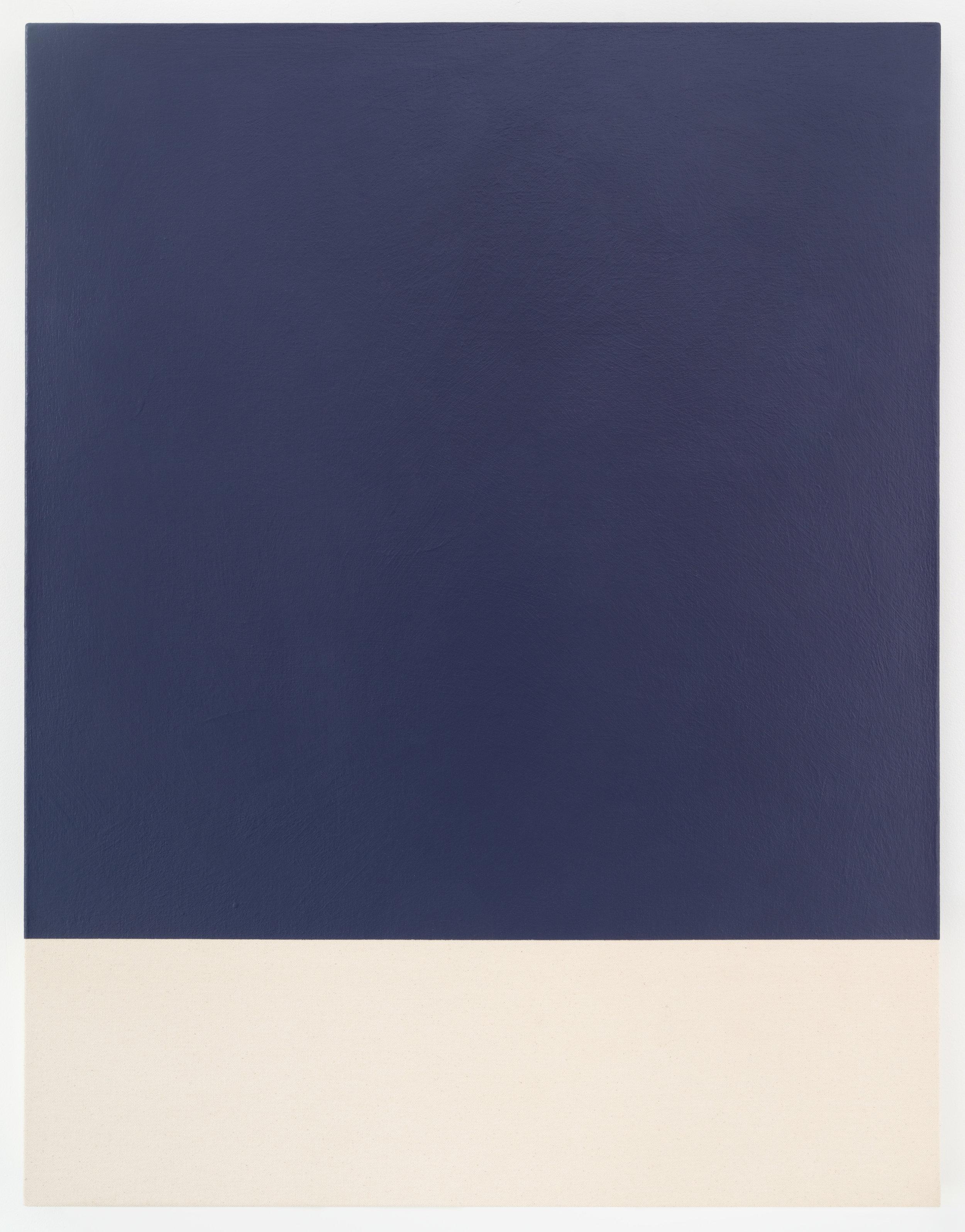 """Guy Pellerin,  485– la couleur des lieux, Lisbonne , 2018, acrylique sur canevas, 84 x 65 cm (33"""" x 24.5"""")"""