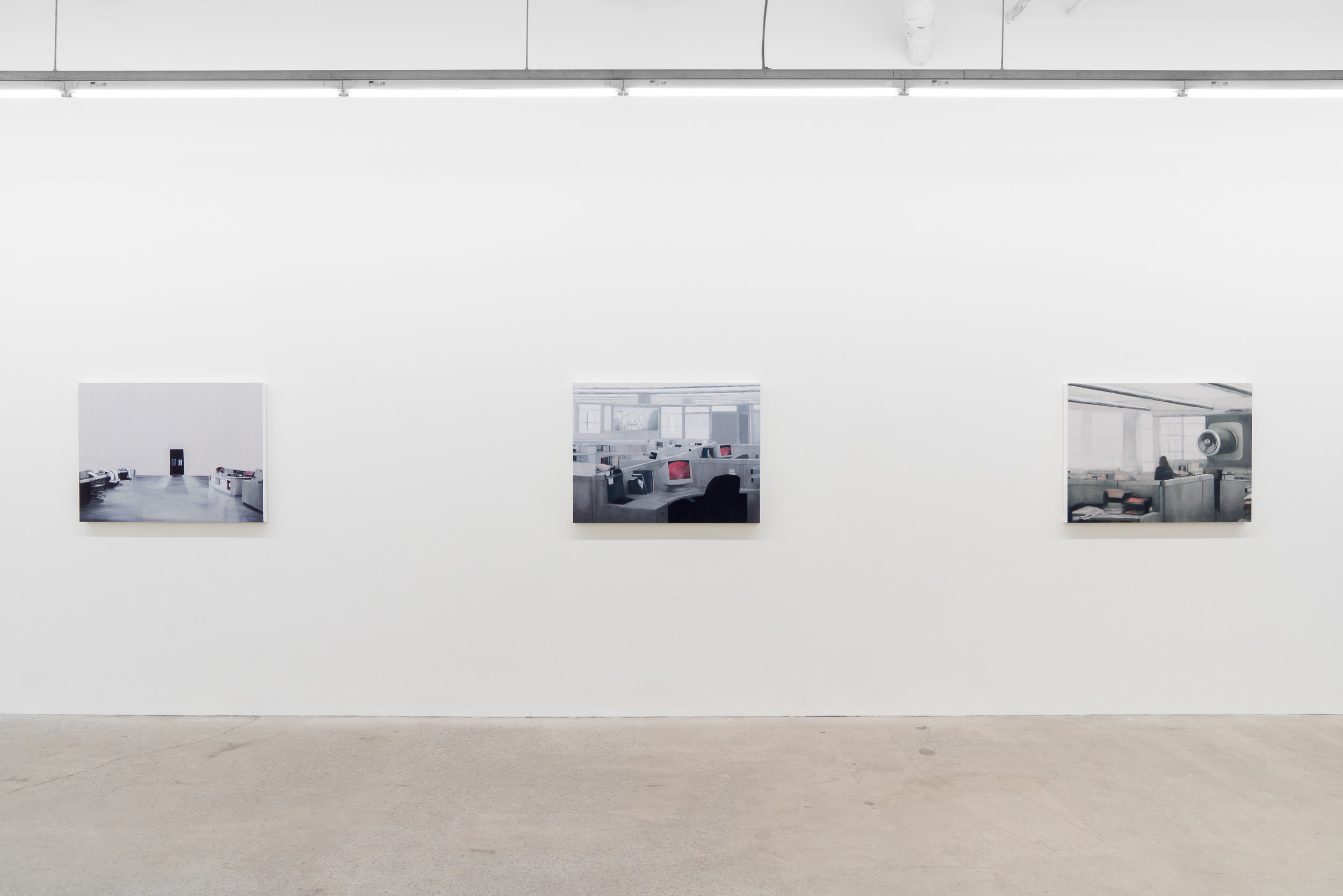 Joe Lima,  Variable Zones,  , 2019, vue d'exposition, Galerie Nicolas Robert, photo : Jean-Michael Seminaro