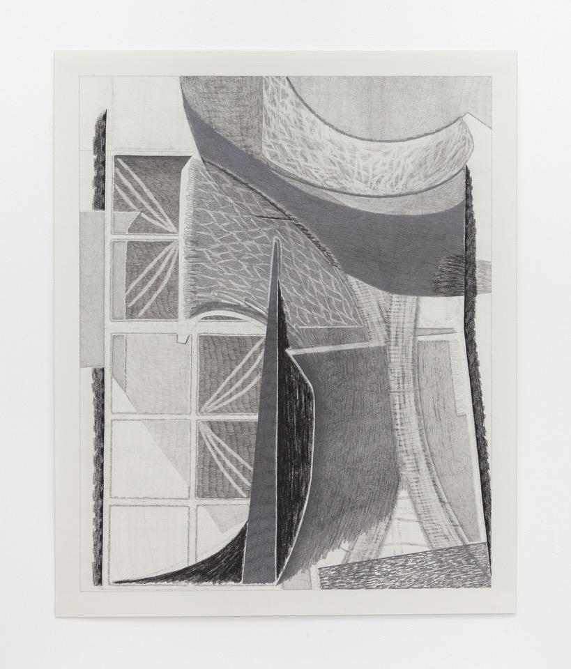 """Magalie Guérin,  Untitled (D1620-2018-20) , 2018, graphite sur papier, 56 x 46 cm (22"""" x 18"""")"""