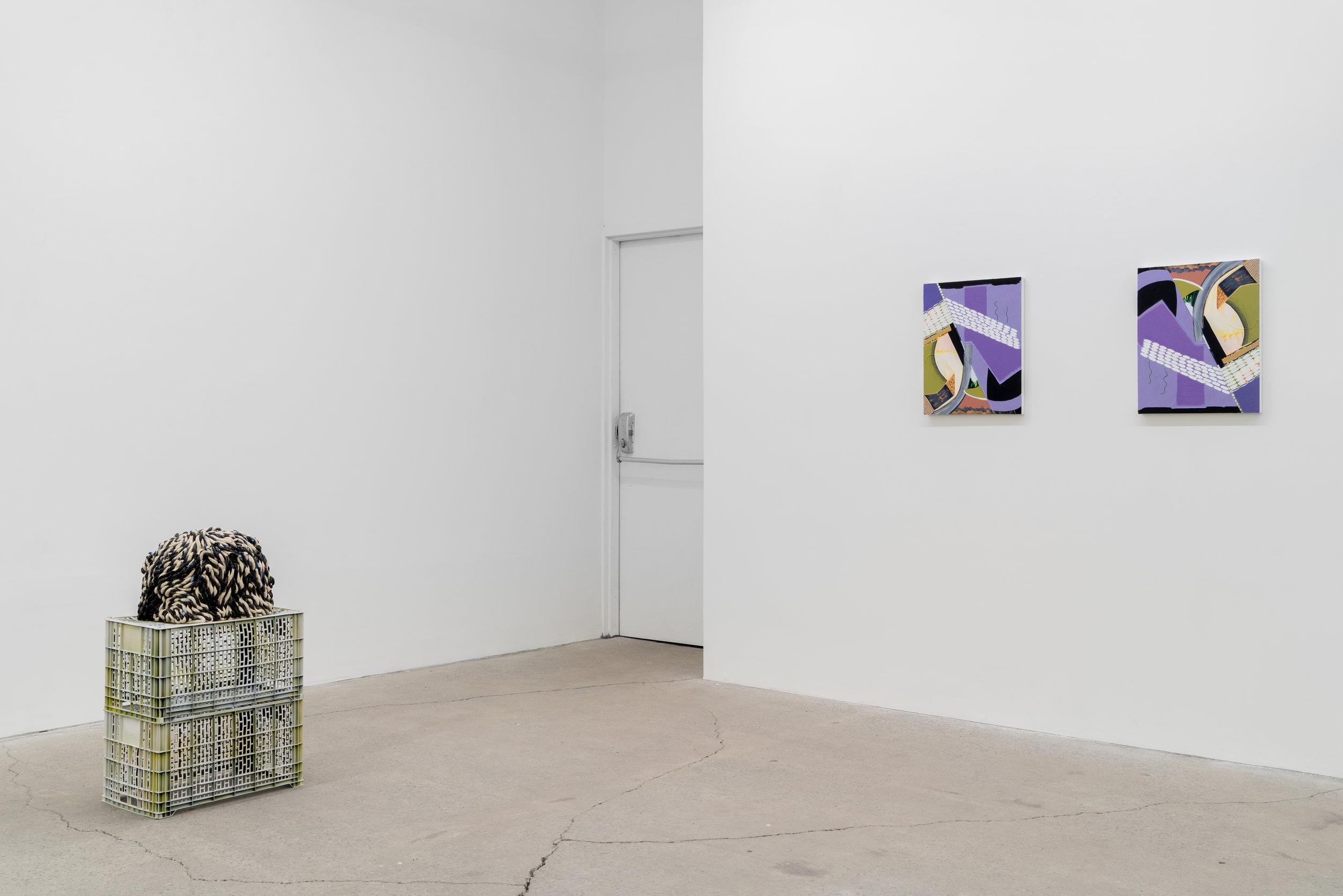 Magalie Guérin, 2019, vue d'exposition, Galerie Nicolas Robert, photo : Jean-Michael Seminaro