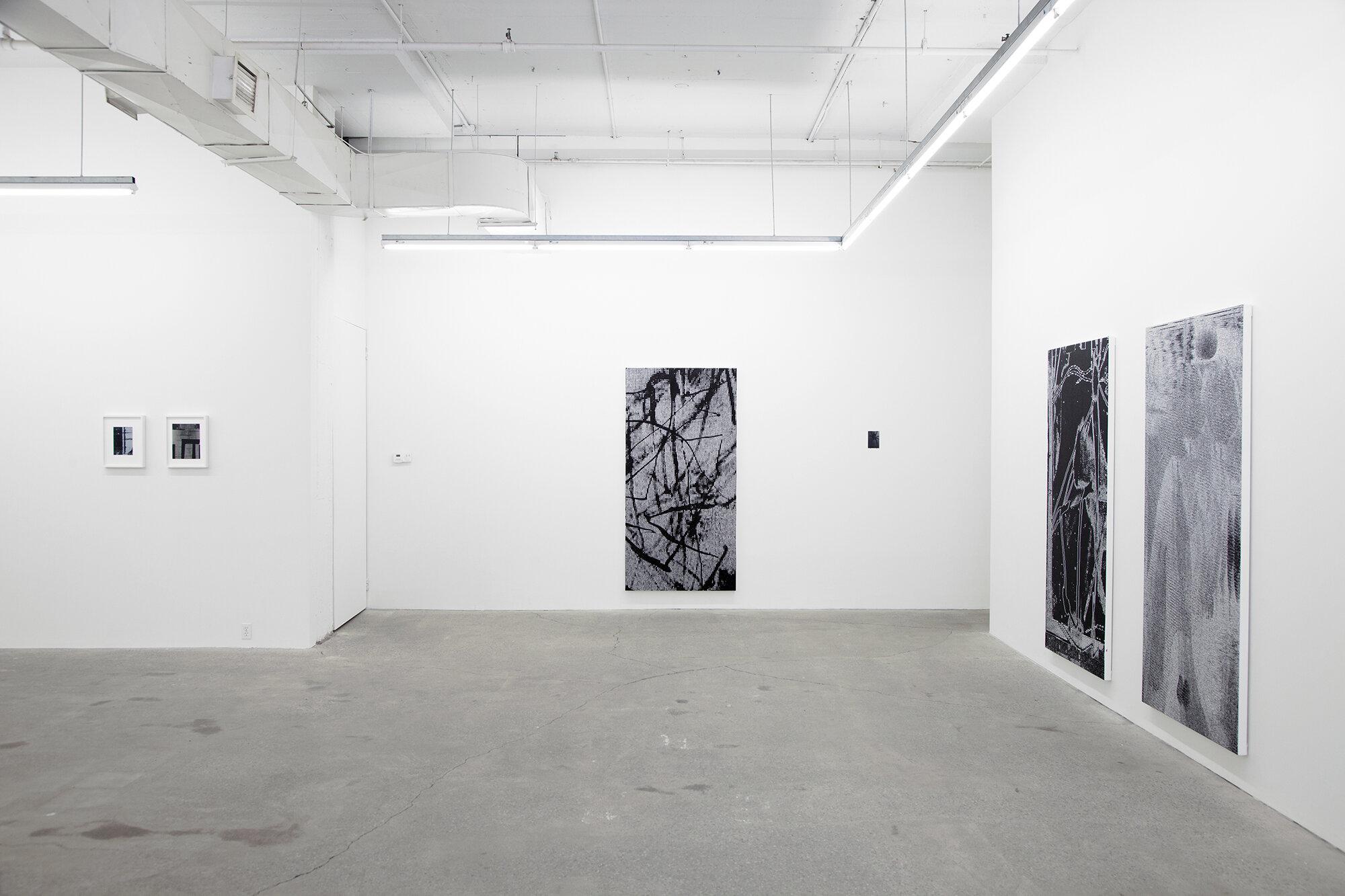 Jérôme Nadeau,  Poor Healer , 2019, vue d'exposition, Galerie Nicolas Robert.