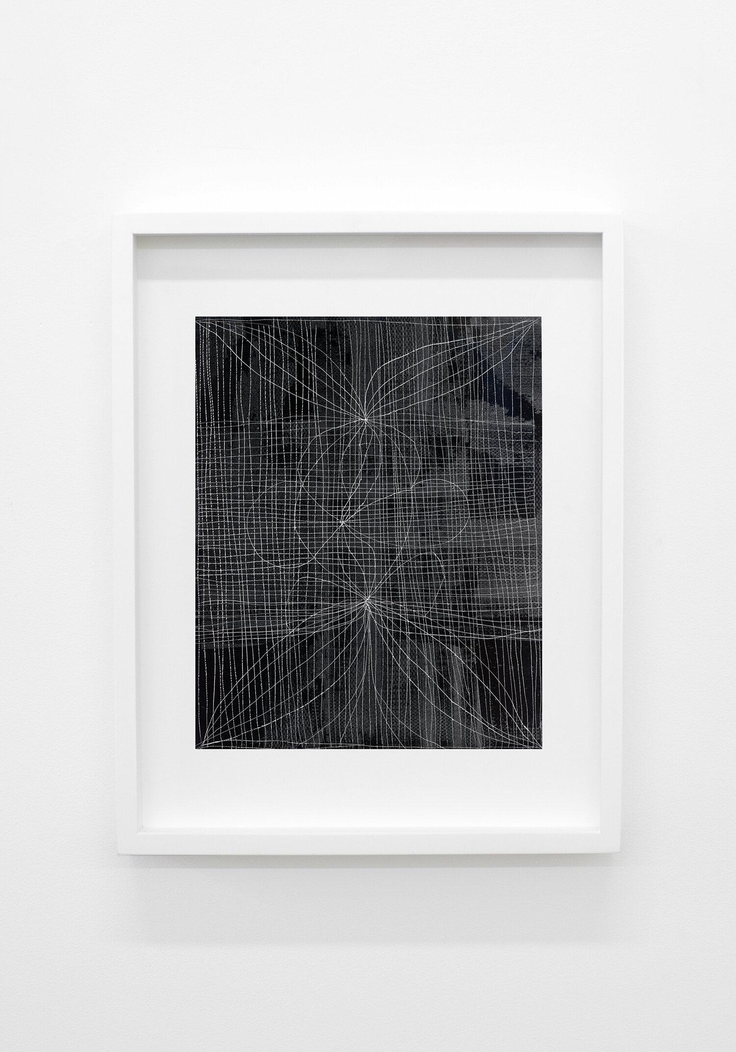 """Jérôme Nadeau,  Iris Twice & Narcissus,  édition unique, 2019, impression argentique, 25 x 20 cm (10"""" x 8"""")"""