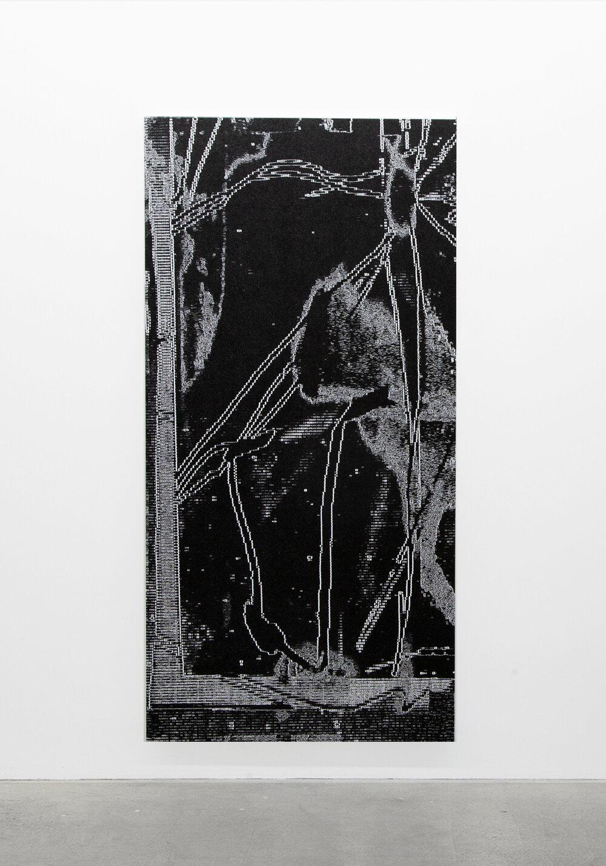 """Jérome Nadeau,  The crawler,  édition unique, 2019, impression jet d'encre sur toile, 195,5 x 96,5 cm (77"""" x 38"""")"""