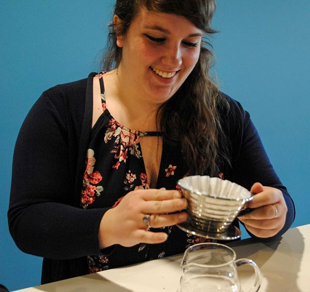 Today our manager @hale_of_a_gal is turning a quarter of a century old! To celebrate we are giving everyone 25% off her favorite drink—the pour over. So stop in today and wish her a happy birthday and enjoy a pour over! #hubcoffee #happybirthday #letscelebrate