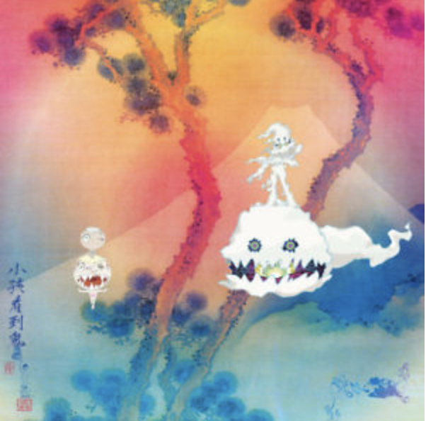 """Kid Cudi and Kanye West might be one of the world's greatest success stories. After years of mental health torture, feuding, media attention, and each's emotional experiences with finding peace in their own world, their amazing personal stories merge perfectly in KIDS SEE GHOSTS. While only coming in at 23 minutes long, the album doesn't let down for a second as Kid Cudi and Kanye West play perfectly off of each other, creating a record where every second sounds like pure emotion and only builds onto the near-ethereal experience. """"Reborn"""" and """"Freeee (Ghost Town Pt. 2)"""" give amazing insight into the peace West and Cudi have found, the whole record only building and building until the perfect, thoughtful closure and homage of """"Cudi Montage"""". KIDS SEE GHOSTS is an album that is never going to be forgotten."""