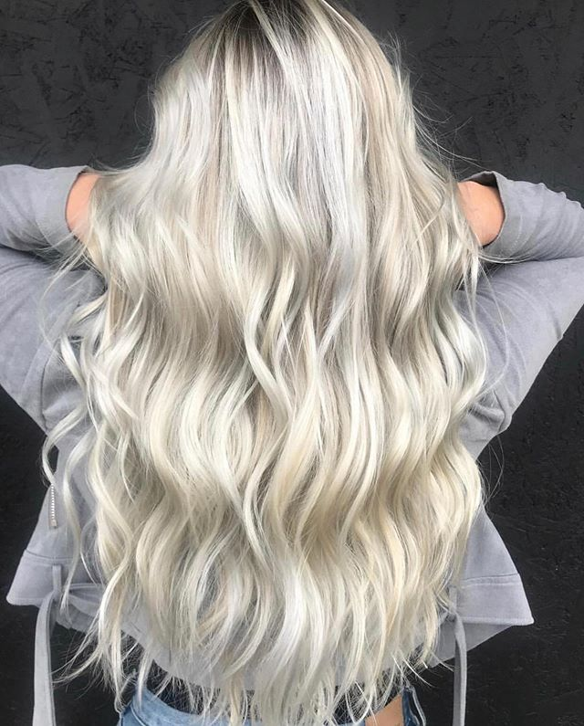 Blonde goals! 💕 Handcrafted to perfection by Angie Call•text (518) 225.2225.