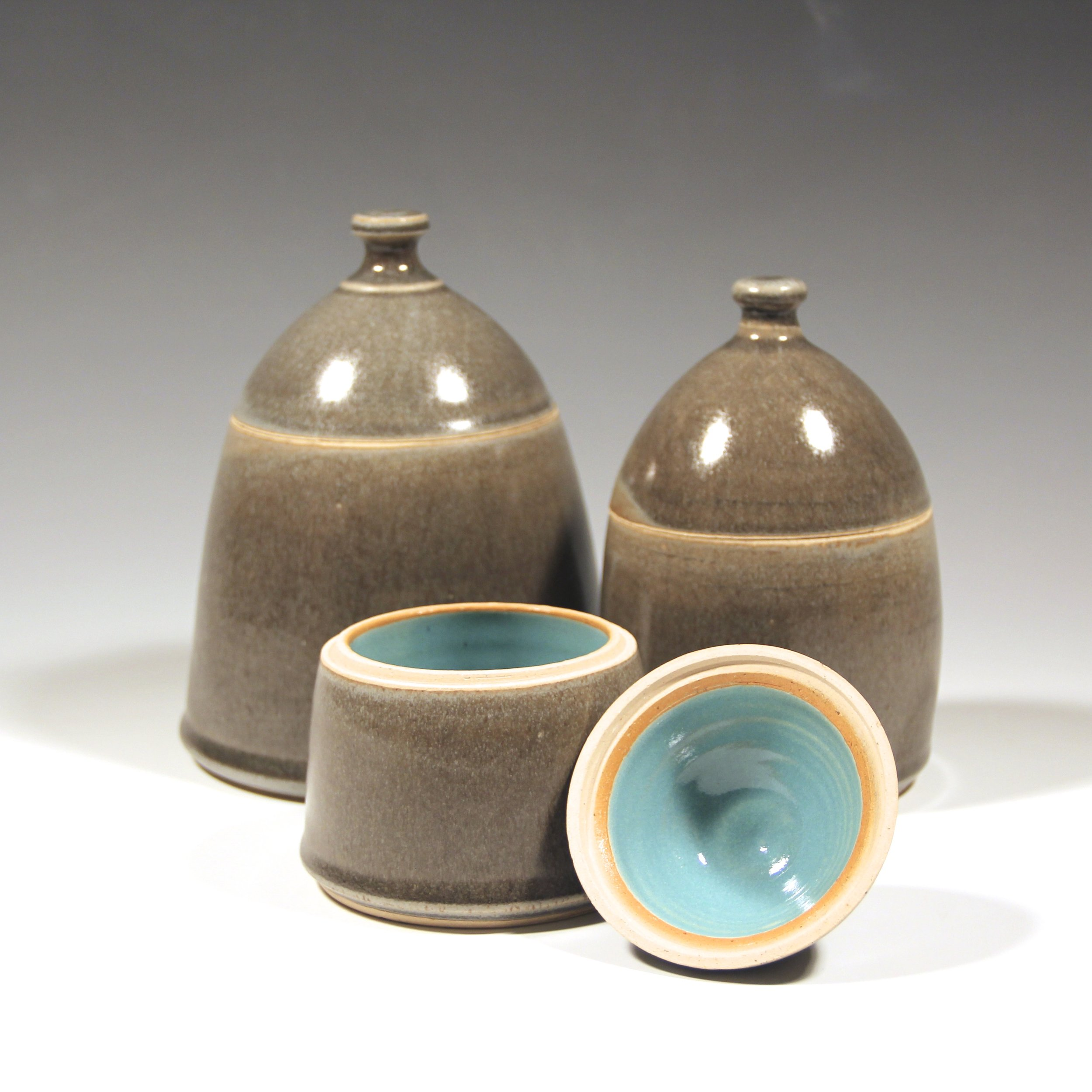 AUDREY LONG- AUDREY LONG CERAMICS - Wheel-thrown clay, covered in glazes I make, in kilns I fire, using designs I've refined over time, field-tested and cupboard approved.With dirt, my hands, glass & fire. I make functional ceramics, pieces that are well-thought and utilitarian, each hand-thrown and individually glazed in shapes and colors that feel good. I make vessels that you want to hold in your hand, drink your coffee from and share with the people you love.