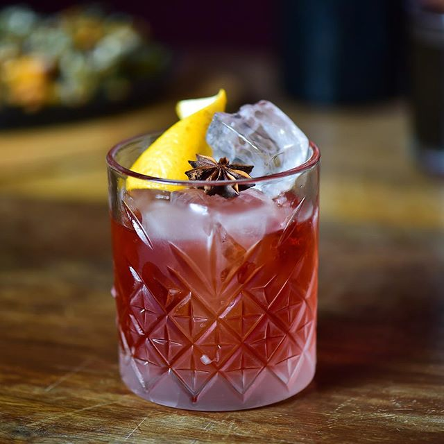 Excited to participate in #MezWeek this year 💥  Please join us at either of our locations (NY+LV) through Nov. 11 to celebrate all that is awesome about #mezcal by sipping on a Mezcal Sun-Risa or a Mole Negroni🍹