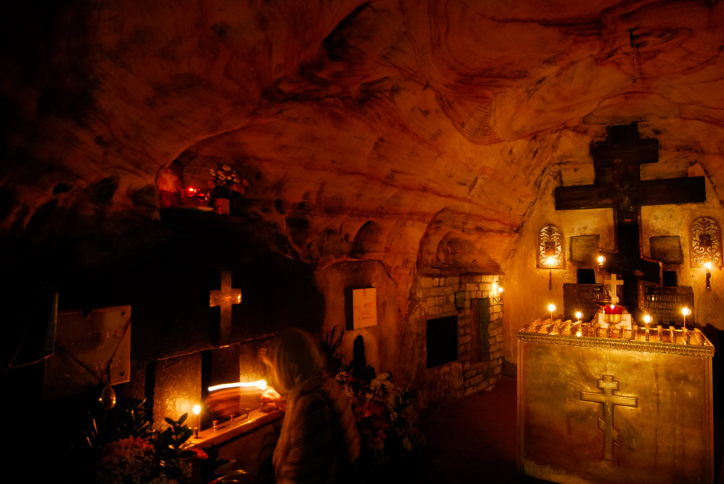Pskov Caves monastery, June 2010