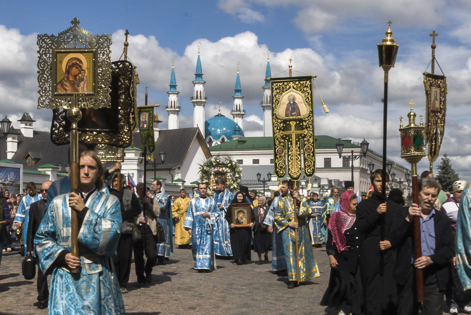 Procession in Honour of Our Lady of Kazan, July 2014