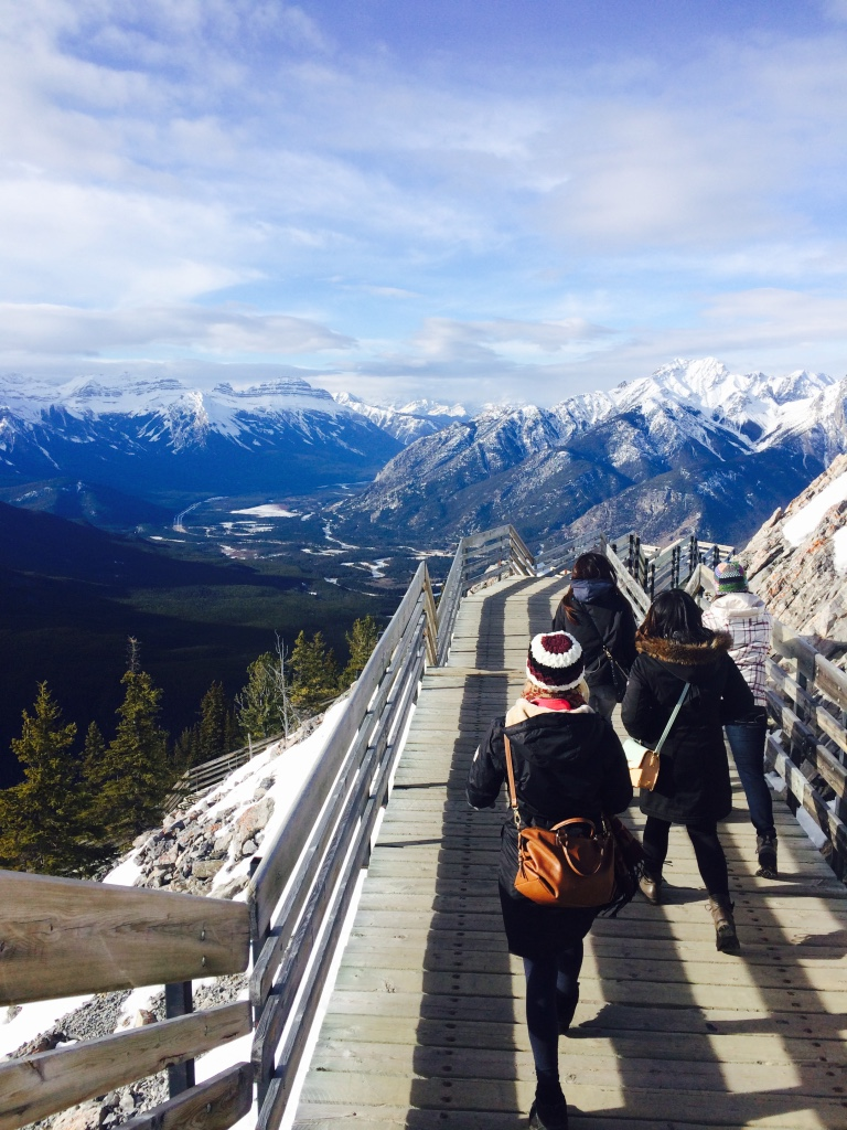 Exploring the Rocky Mountains in Banff!