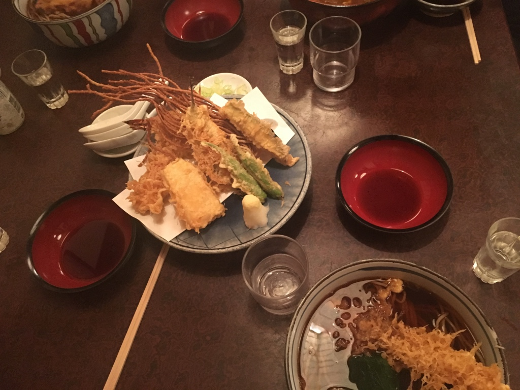 Some of the delicious cuisine of Japan at IASP 2016!