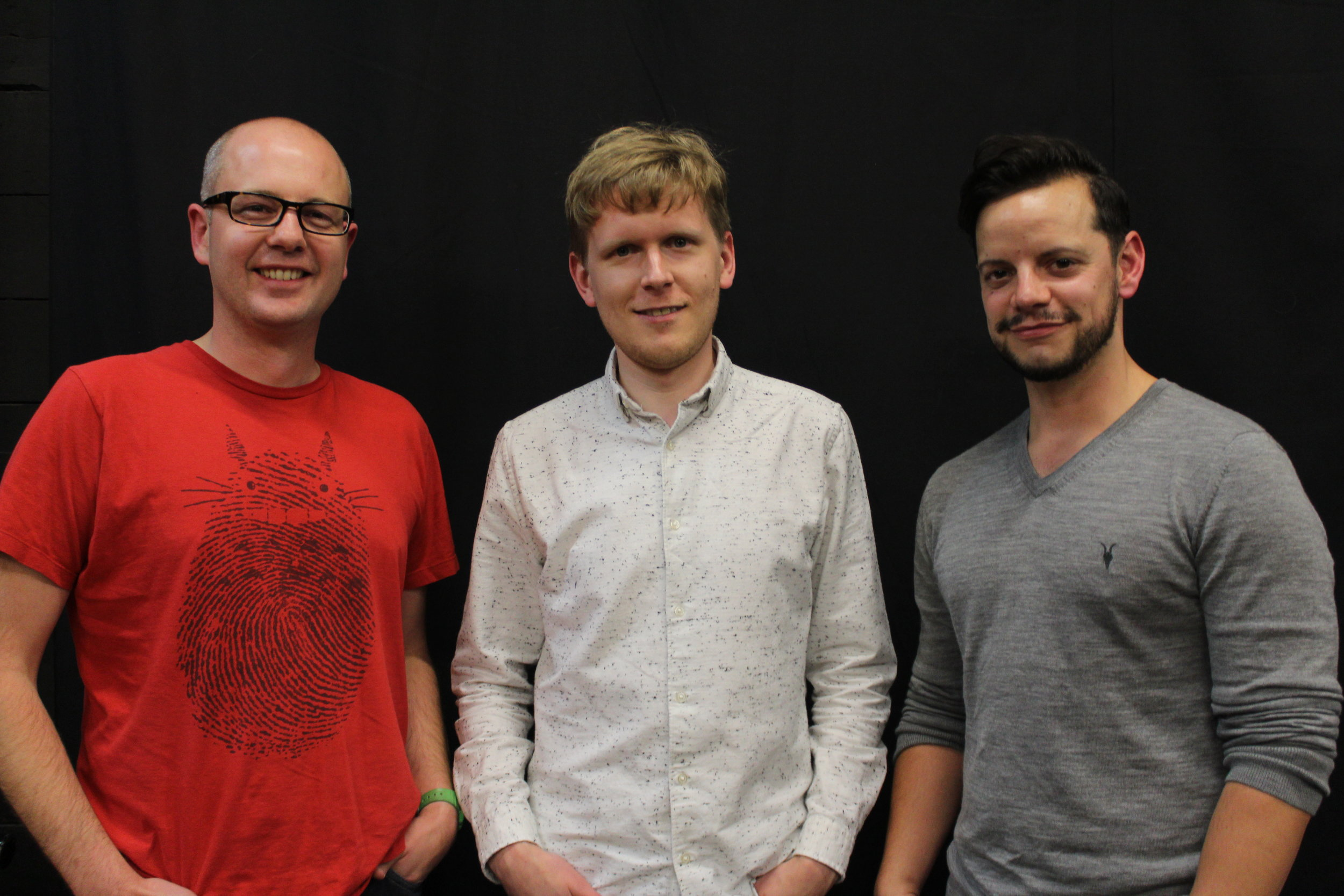 Pawan Mather (sound, camera), Andrew River (writer, director, editor, producer), James Podmore (director, camera, Ryan)