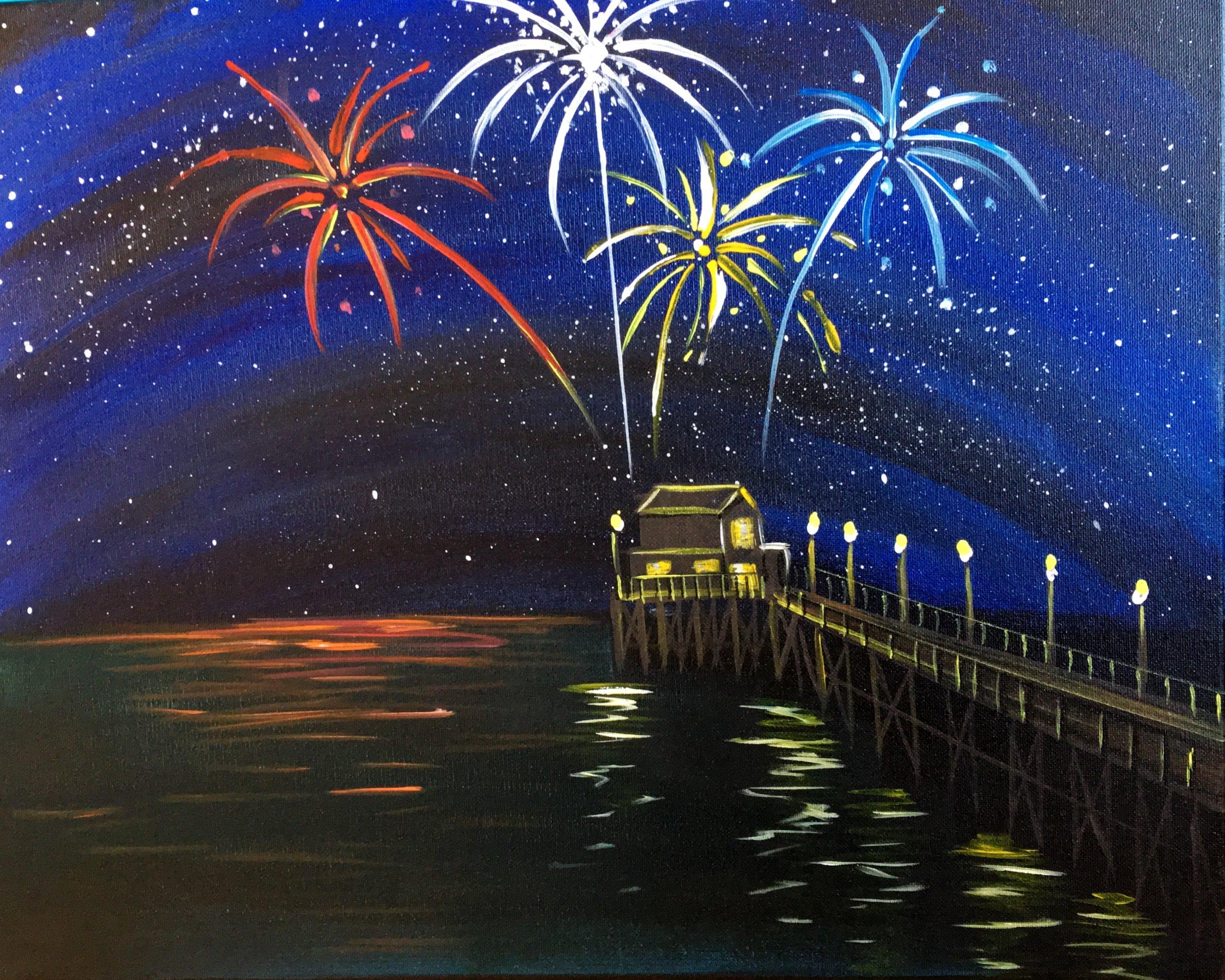 New Year Pier