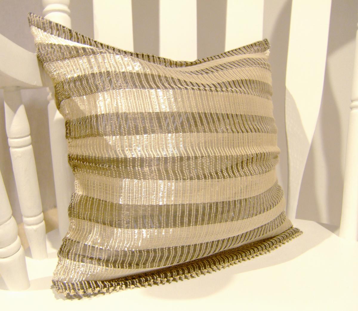 Cold Comfort - Throw Pillow Detail