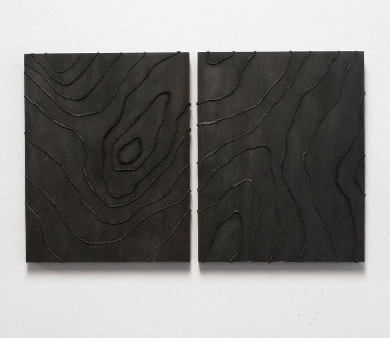 Topographies no. 1 (diptych)
