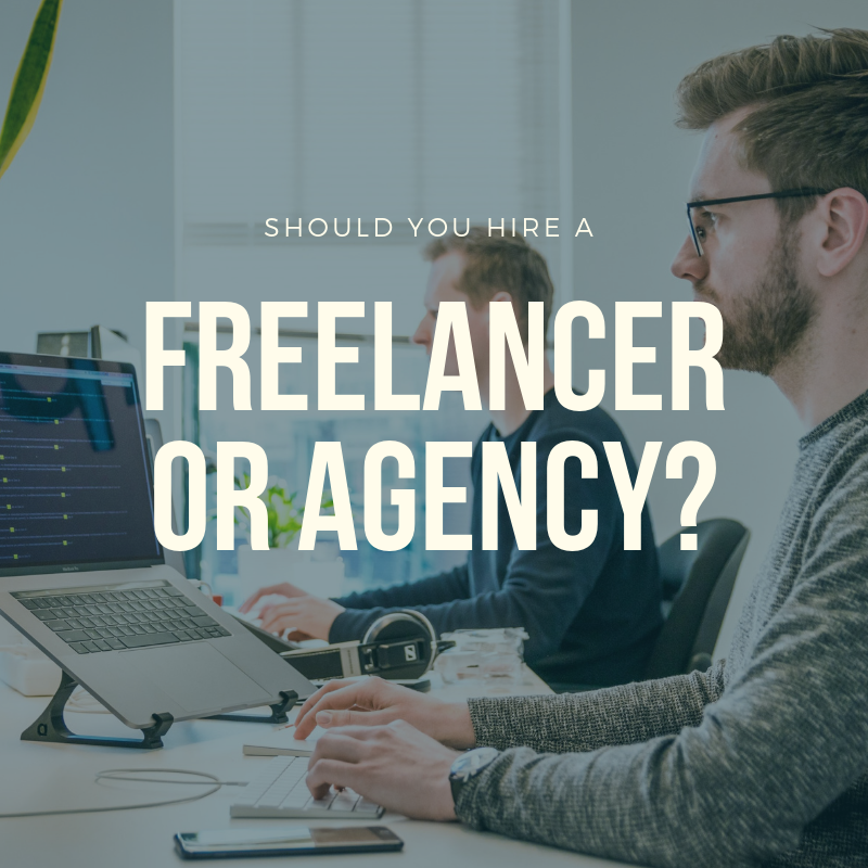 Freelancer or Agency Blog Banner