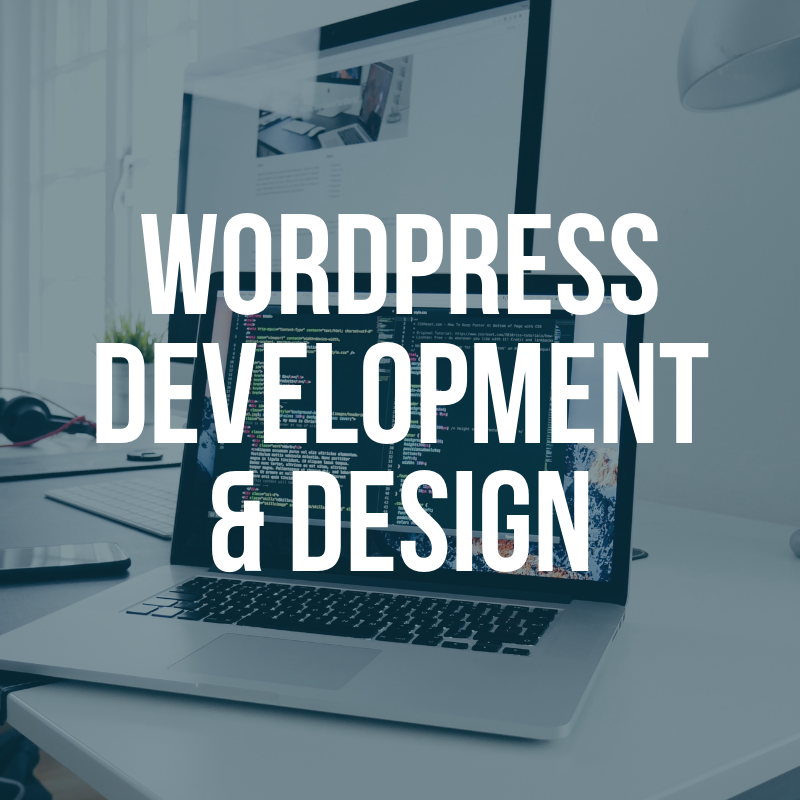 WordPress Development and Design Button