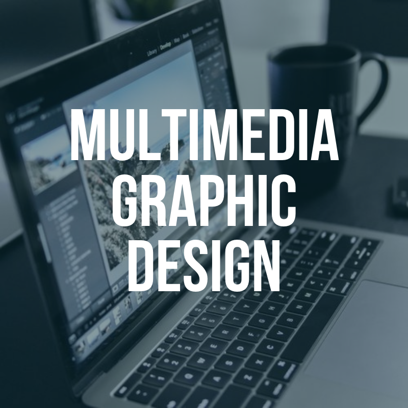 Multimedia Graphic Design Button