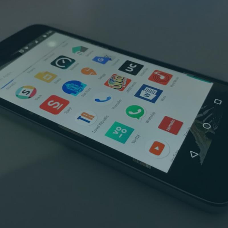 Mobile App Development and Design Button