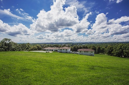 Imagine sitting atop the highest point in Mendham borough and experiencing 270-360 degree views change right before your eyes. @thebelvedereproject invites you to a beautiful mid century home ready to occupy while building your custom home and optional equestrian area.  #njlistings  #luxuryhomes  #njrealestate  #customhomes  #midcenturyhome  #midcenturymodern  #equestrianlifestyle  #itsallabouttheview #thebelvedereproject