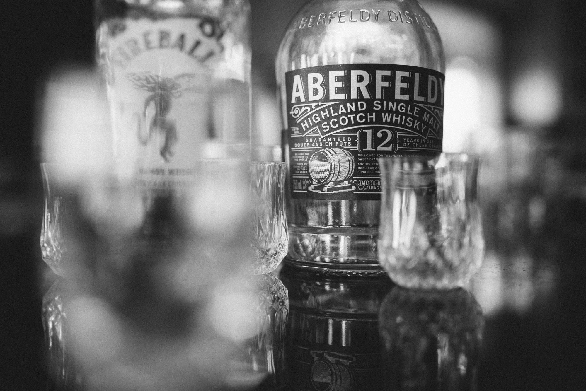 Aberfeldy 12 scotch toast