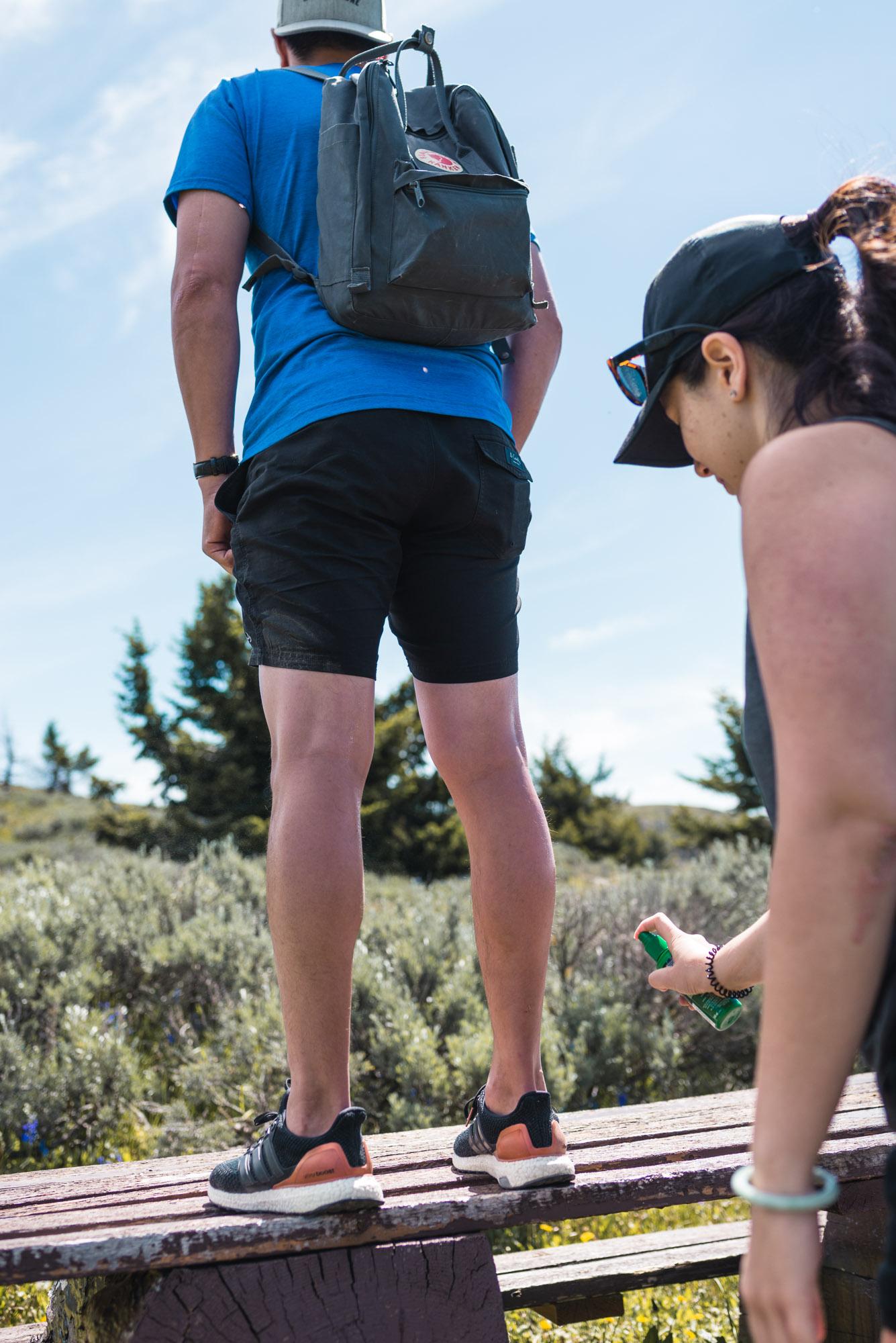 Mount Kobau bug spray