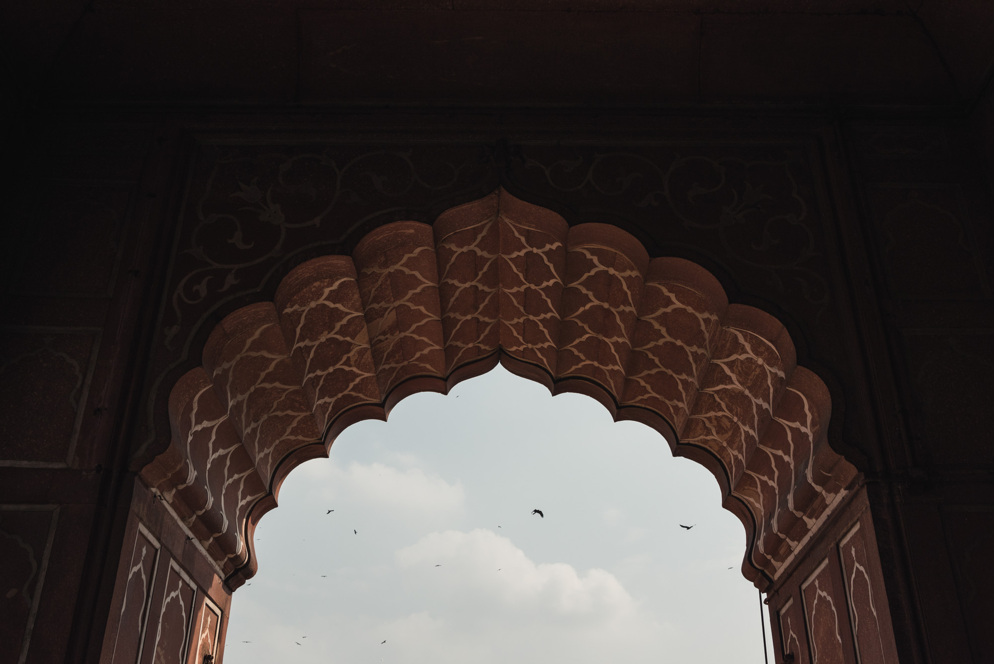 Arch at Jama Masjid Old Delhi