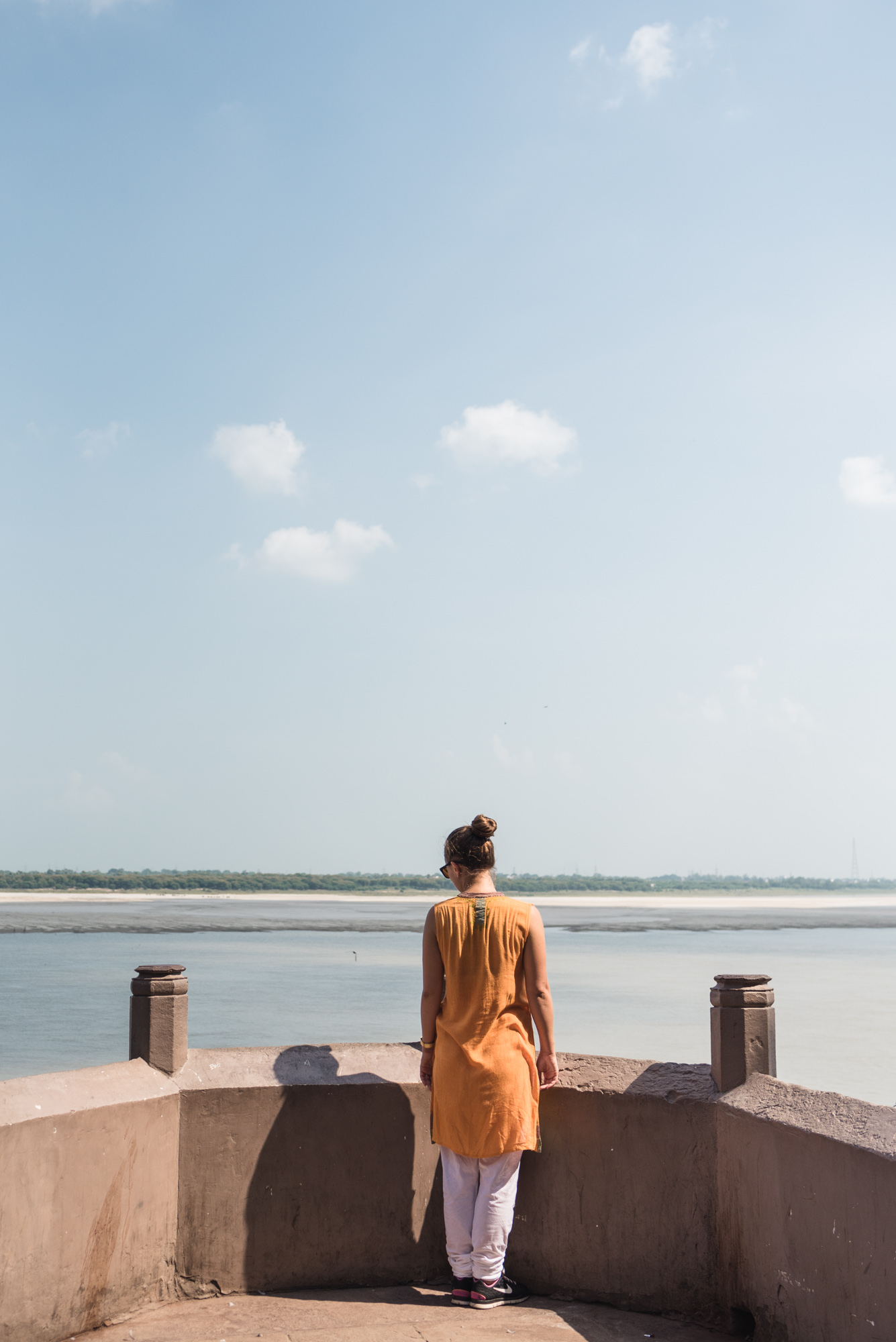 Ganges view at Munshi Ghat, Varanasi