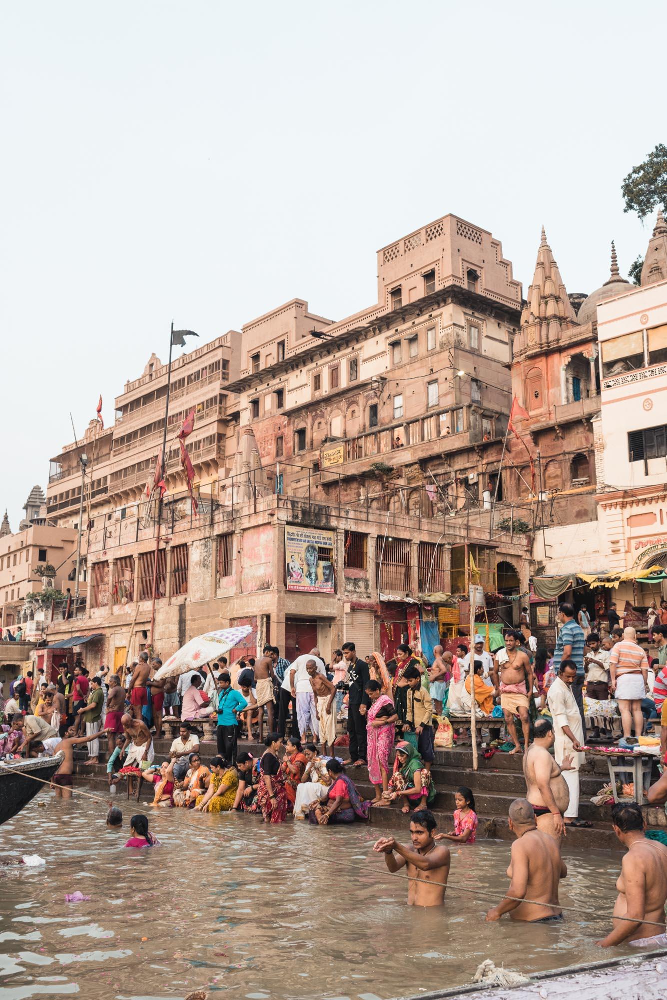 The Ganges in Varanasi