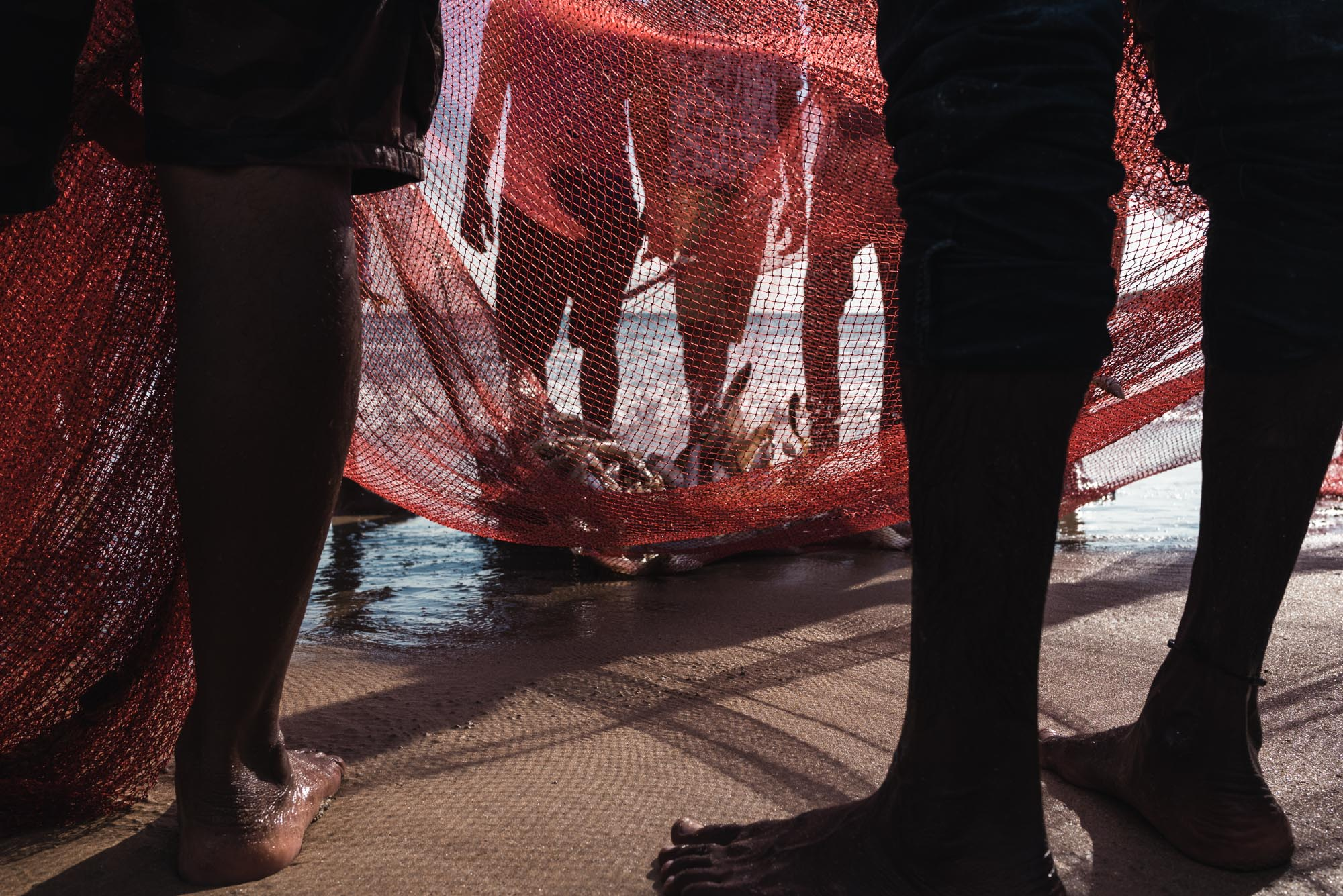 Fishing at Palolem Beach, Goa