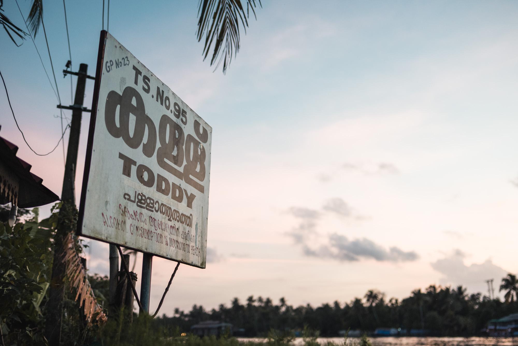 Pakku's Toddy Shop sign