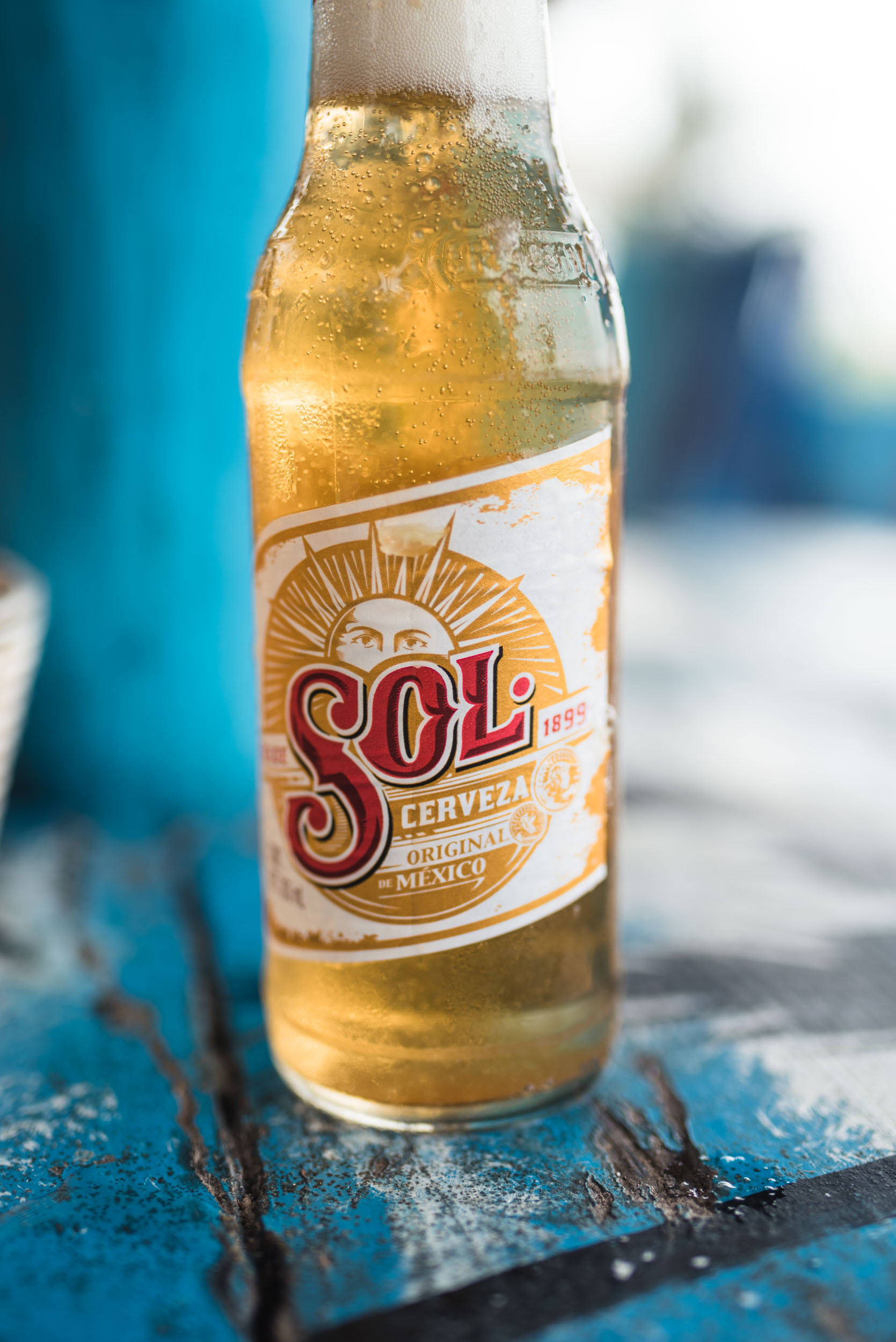 Sol beer bottle