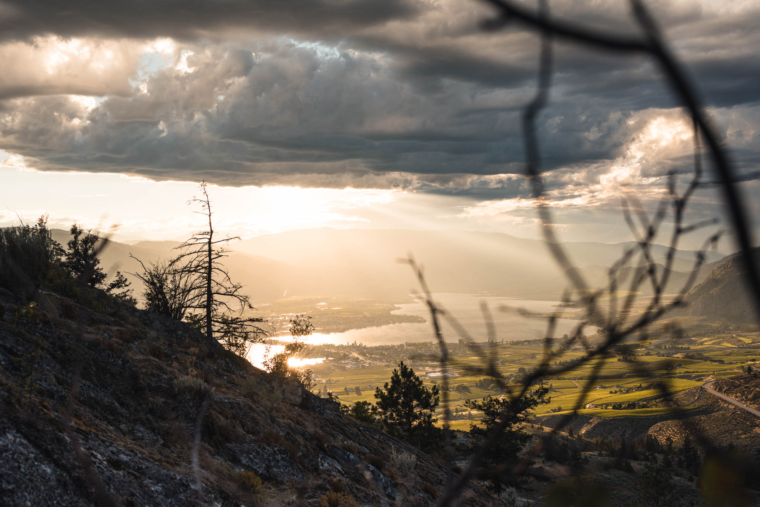 Sunset on Anarchist Mountain, Osoyoos