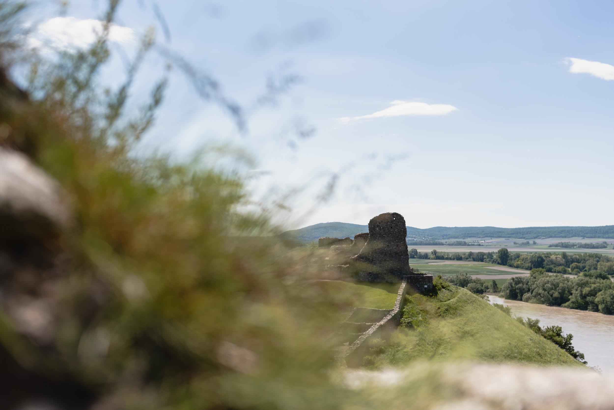 Devin castle landscape