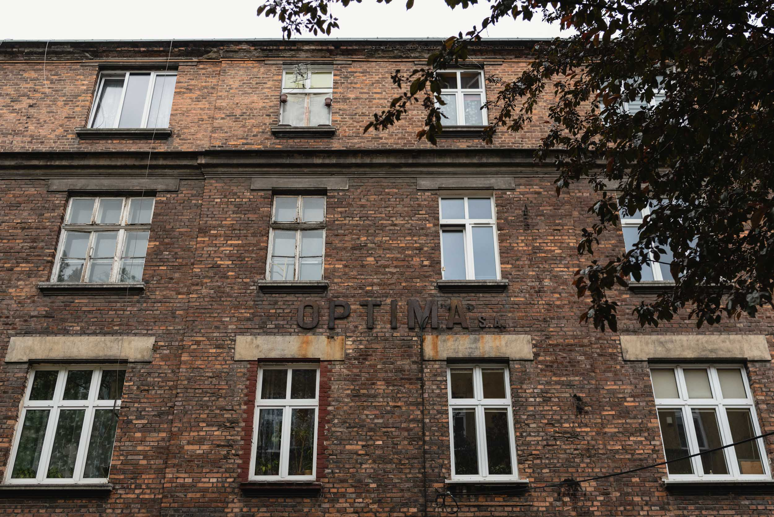 Optima Factory building Krakow Jewish Ghetto