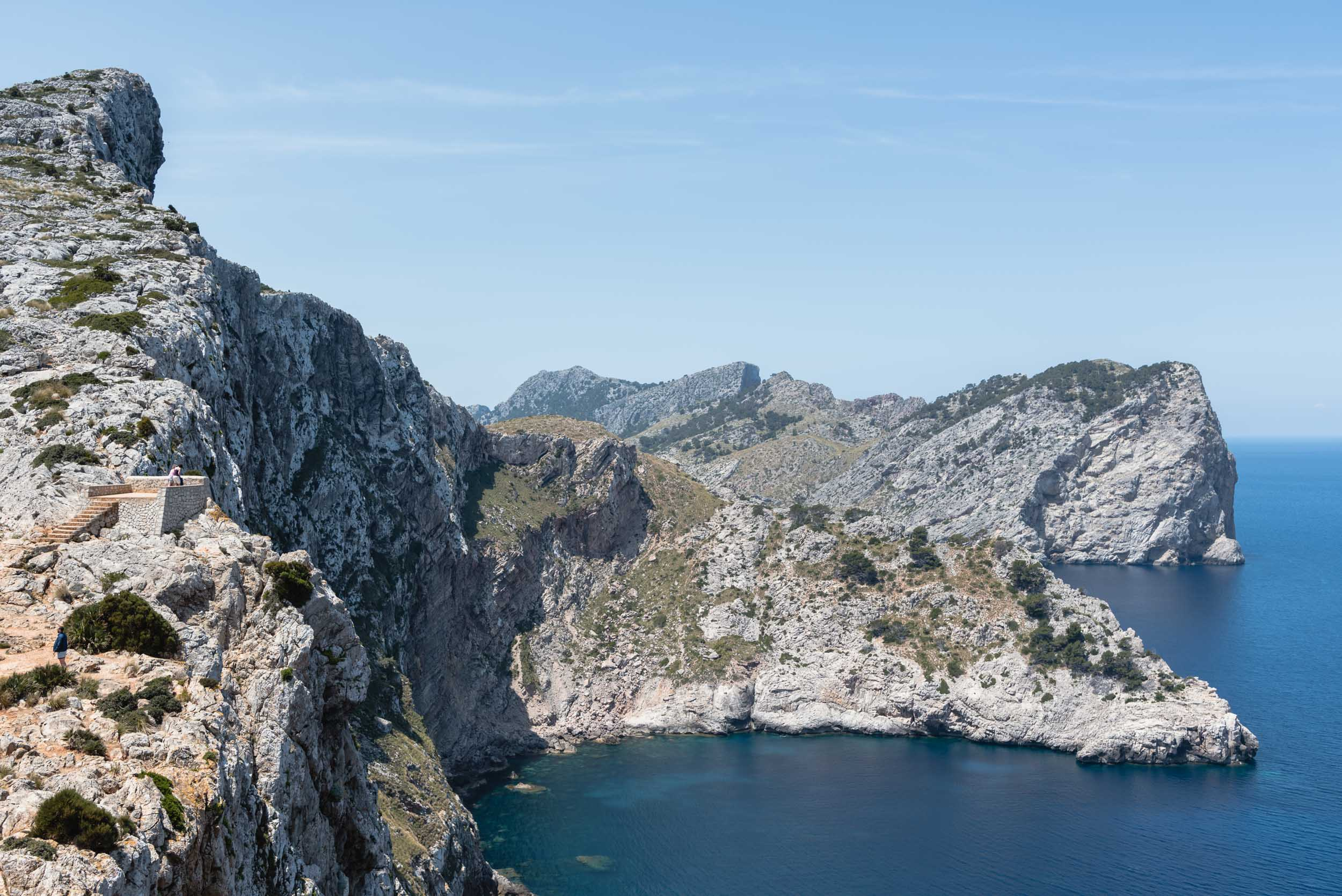 Ocean from Mirador lookout Mallorca